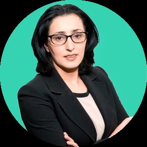 Karima Zmerli Headshot Green